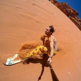 Sandboard in Giordania